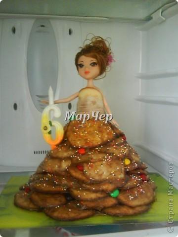 тортик для Алиночки на 6 лет фото 2
