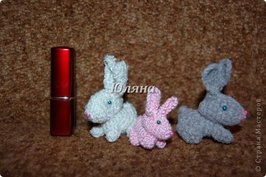 зайчики брелки 5-7 см вместе с ушами.розовая зая в юбочке фото 2