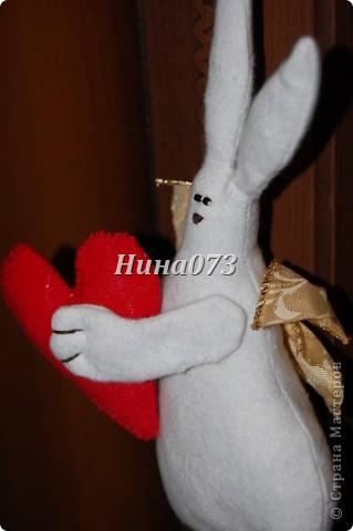 Вот мое новое чудо ))) получилось Влюбленный Зайчище фото 2