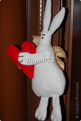 Вот мое новое чудо ))) получилось Влюбленный Зайчище фото 4