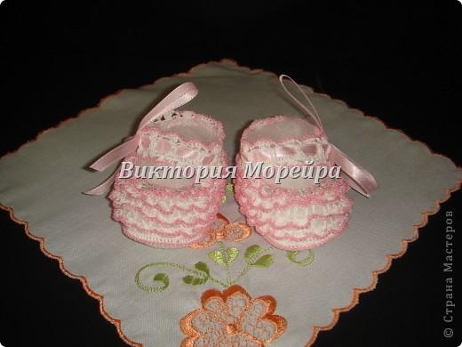Бело-розовый вариант.  фото 2