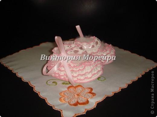 Бело-розовый вариант.  фото 3