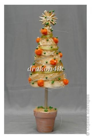 мандариновая ёлочка фото 1