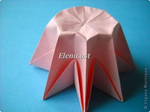 При копировании статьи, целиком или частично, пожалуйста, указывайте активную ссылку на источник! http://stranamasterov.ru/user/9321 http://stranamasterov.ru/node/120275 Коробочка-звездочка в технике оригами. Можно положить сладкий подарок, мягкую игрушку, украшения и поставить под елочку от Деда Мороза. Из цветной бумаги для принтера (квадрат 21х21) получается коробочка в диаметре 11 см (по крайним точкам). фото 30