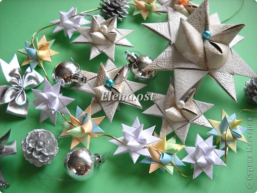 Оригами Плетение Звезда