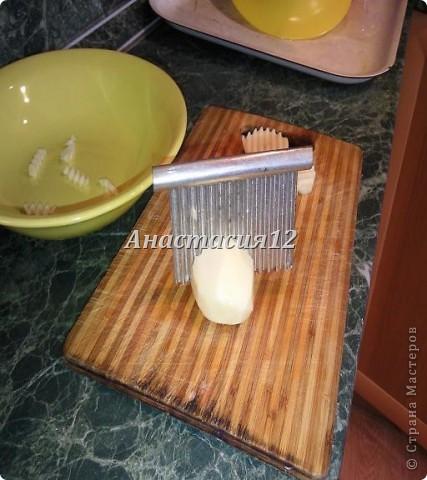 Вам понадобиться:картофель,соль(по вкусу),приправа для картофеля. фото 5