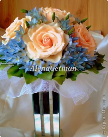Свадебный букет фото 3