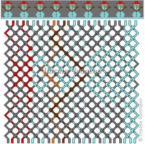 год Плетение Схемы фенечек