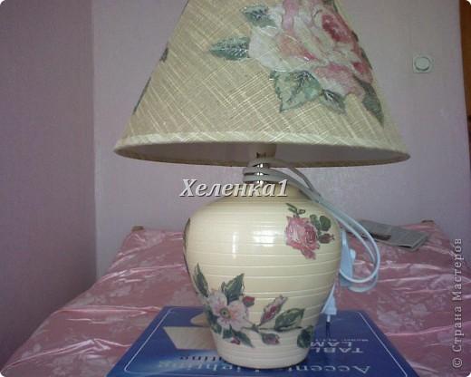 Лампа в стиле прованс фото 1