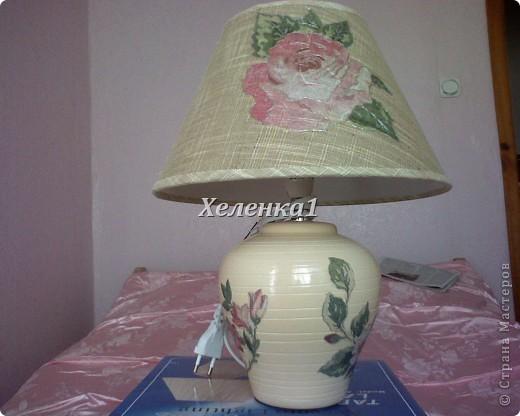 Лампа в стиле прованс фото 2