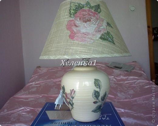 Лампа в стиле прованс фото 4