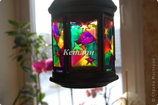 Вот такой фонарик приготовила в подарок Маме мужа Увидела на одном сайте,очень понравилось)))) фото 2