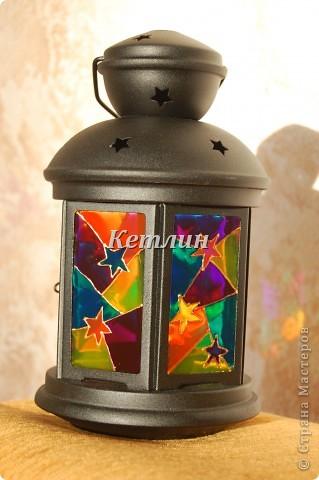 Вот такой фонарик приготовила в подарок Маме мужа Увидела на одном сайте,очень понравилось)))) фото 1