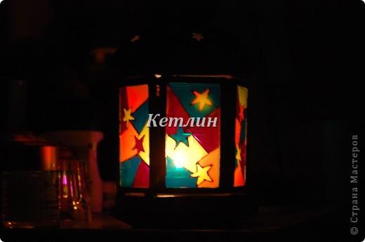Вот такой фонарик приготовила в подарок Маме мужа Увидела на одном сайте,очень понравилось)))) фото 4