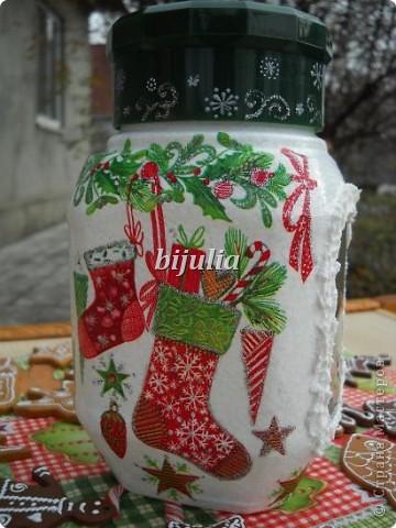 Баночки для новогодних подарков фото 4