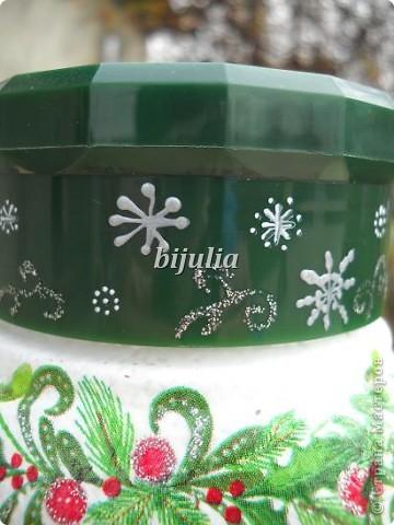 Баночки для новогодних подарков фото 3
