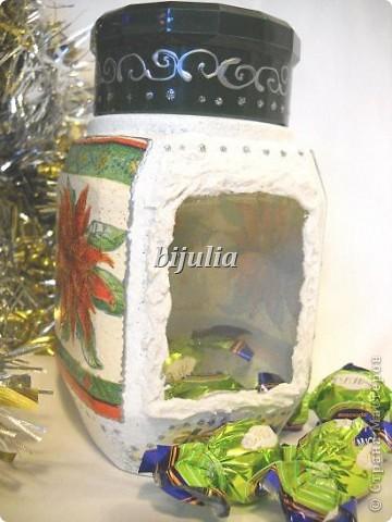 Баночки для новогодних подарков фото 6