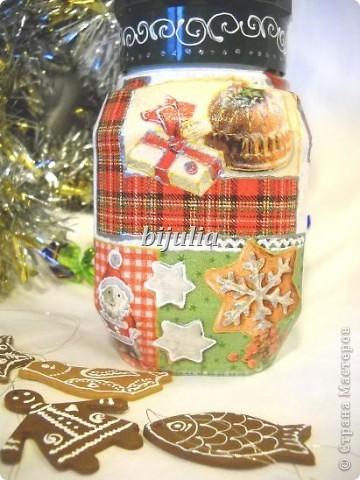 Баночки для новогодних подарков фото 10