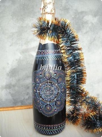 Бутылки с новогодним напитком:) фото 10