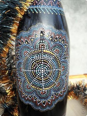 Бутылки с новогодним напитком:) фото 12