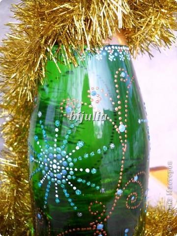 Бутылки с новогодним напитком:) фото 15