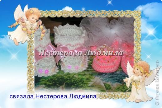 Первый наряд для девочки(от рождения до 3х мес) фото 2