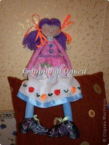 Вот какая лялечка у меня получилась! фото 1