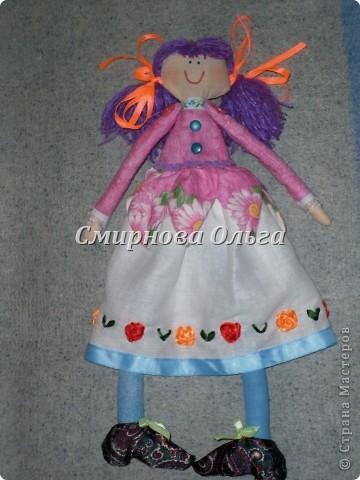 Вот какая лялечка у меня получилась! фото 2