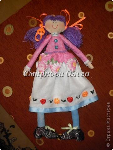 Вот какая лялечка у меня получилась! фото 10