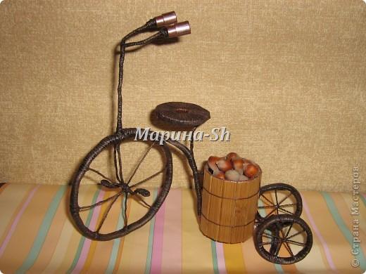велосипед - декор для дома