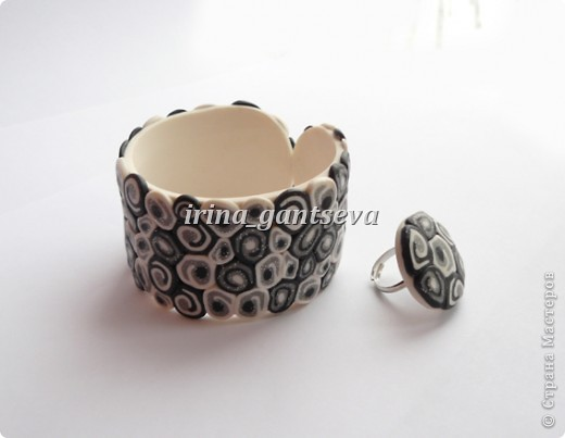 "Набор: браслет и кольцо  "" Волнение "" фото 2"