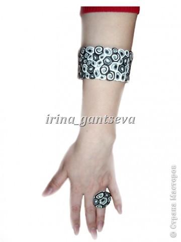 "Набор: браслет и кольцо  "" Волнение "" фото 3"