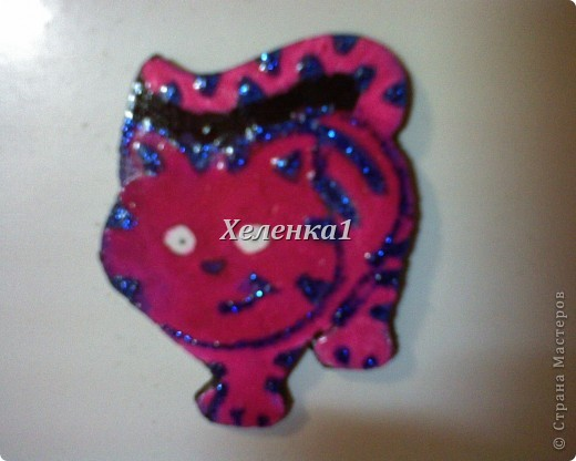 Мои росписи магнитов из глины и керамики фото 6
