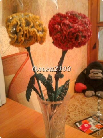 """цветок""""Гвоздика"""" фото 2"""