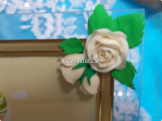 Вот еще рамочки в подарок для своих друзей и родных.попробовала новые цветочки,получилось по-моему не плохо,но судить вам,очень нежно смотрятся,похоже на кусочек весенней цветущей веточки.Сделаю мк,попозже выставлю,может кому пригодится фото 8