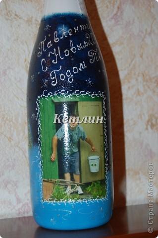 Заказала у меня  одна девушка бутылку с фотографией,да так ей понравились такие бутылочки.Две уже забрала,еще три делаю.  фото 4