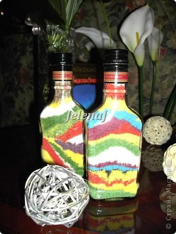 Мои первые работы - бутылочки с солью фото 2