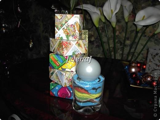 Подсвечник - стакан с солью фото 2