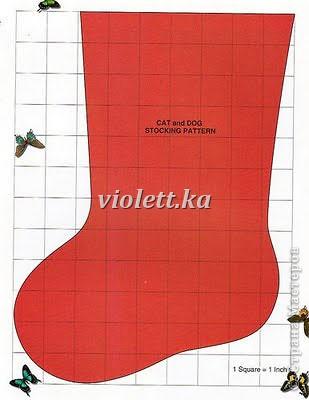 рождественские носочки)) фото 6