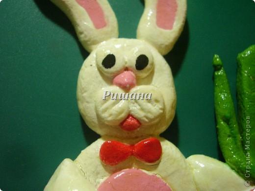 Поскольку я сама родилась в год кролика, решила их и смастерить фото 2