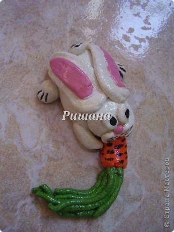 Поскольку я сама родилась в год кролика, решила их и смастерить фото 5