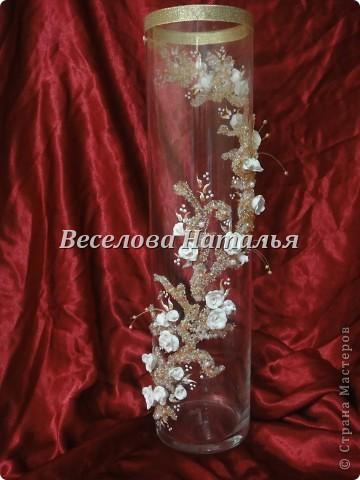 """Вазон """"Золотая россыпь"""" фото 1"""