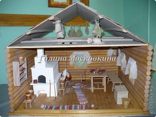 Мастер класс макет дома