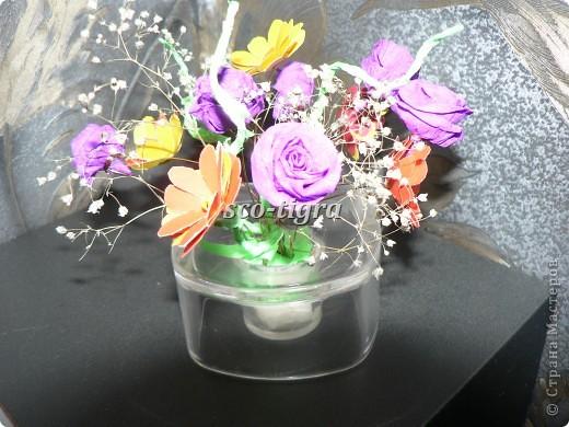 """Букет из роз и """"ромашек"""":) фото 1"""