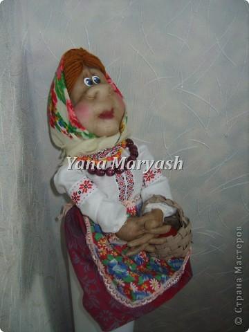На изготовление этих кукол меня вдохновили работы мастерицы Ликмы http://stranamasterov.ru/user/1739 Очень они у нее красивые. Вот решила и я свои силы попробовать!:) фото 5