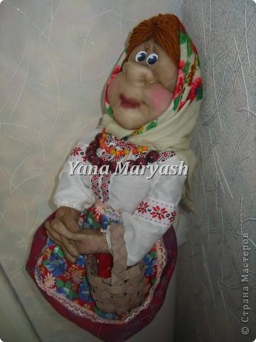 На изготовление этих кукол меня вдохновили работы мастерицы Ликмы http://stranamasterov.ru/user/1739 Очень они у нее красивые. Вот решила и я свои силы попробовать!:) фото 6