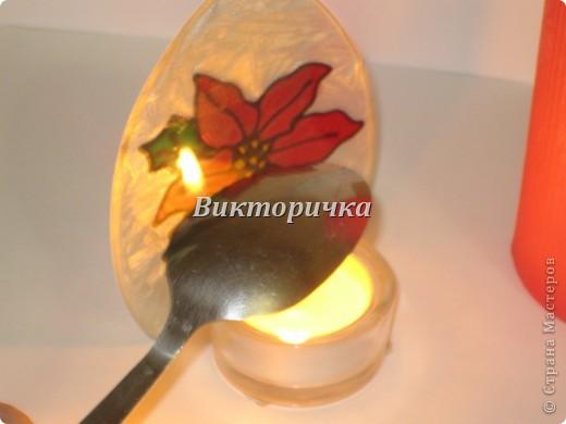 К Новому году, ко дню рождения или на день влюблённых - всегда зажигают свечи! Предлагаю Вашему вниманию простой МК по декупажированию свечи. фото 6