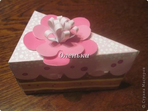 Дочкины работы - бумажные сладости фото 5