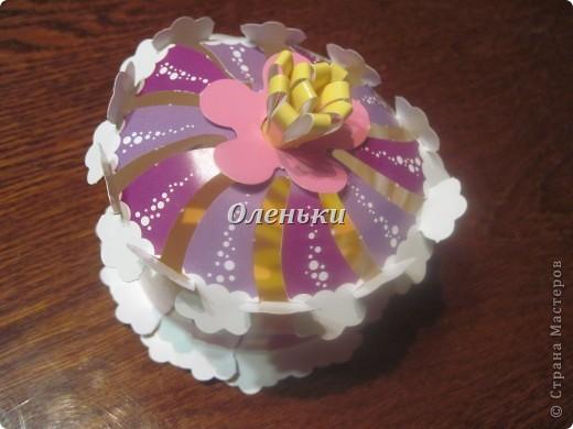 Дочкины работы - бумажные сладости фото 7