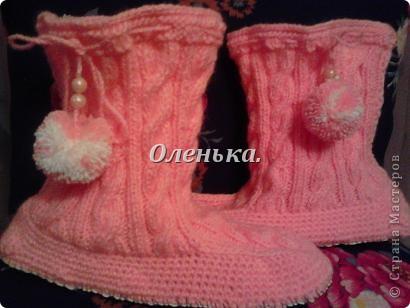 Холодными зимними вечерами - вот такие сапожки согревают мои ножки))). фото 3